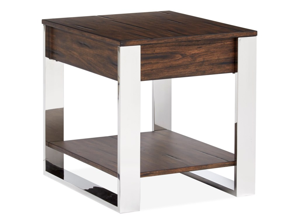 Magnussen Home DuvallEnd Table
