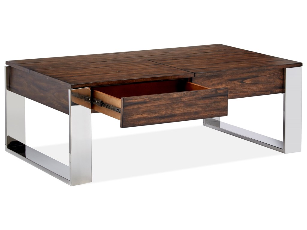 Magnussen Home DuvallStorage Cocktail Table