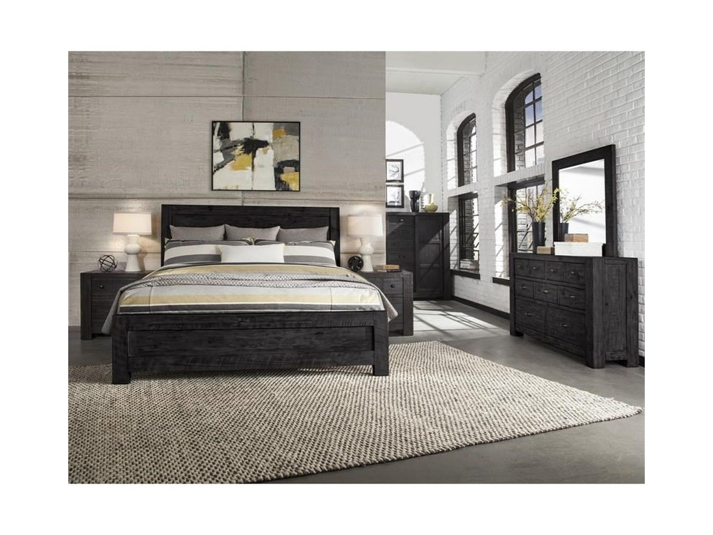 Magnussen Home EltonElton King Wood Panel Bed