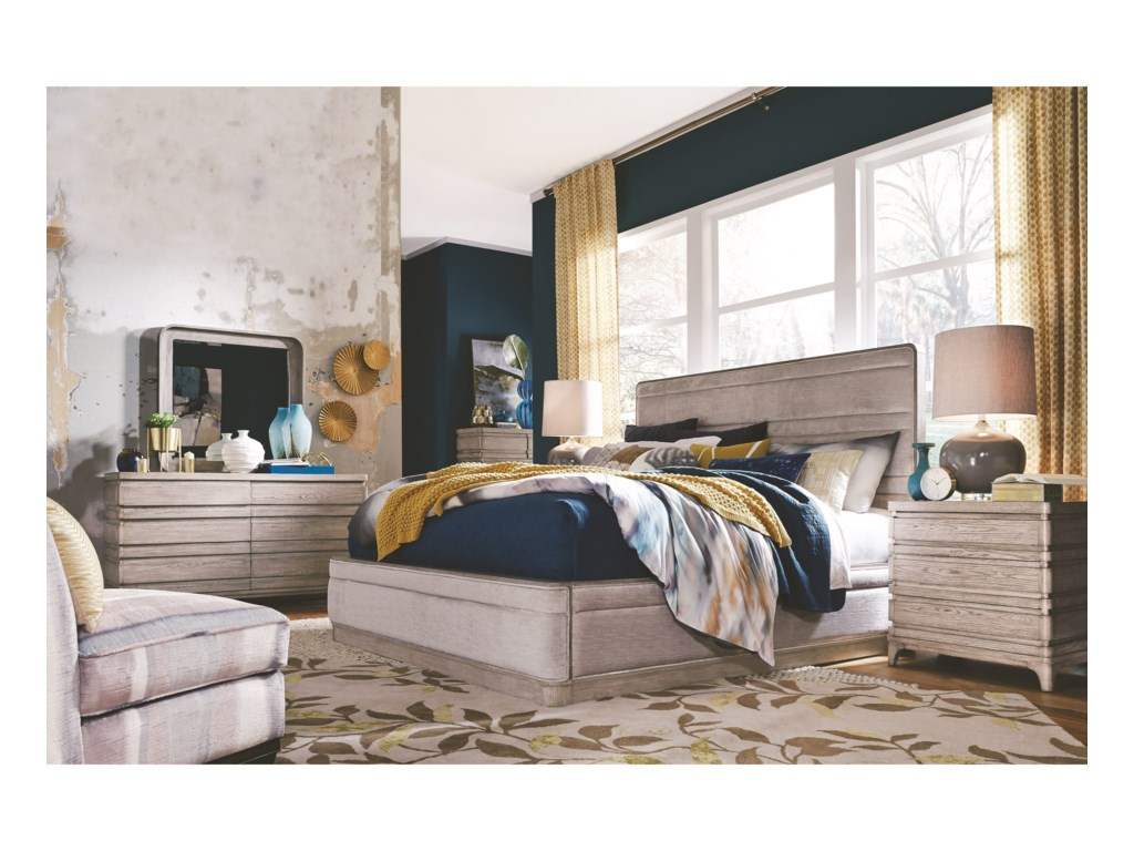 Magnussen Home PacificaQueen Bedroom Group