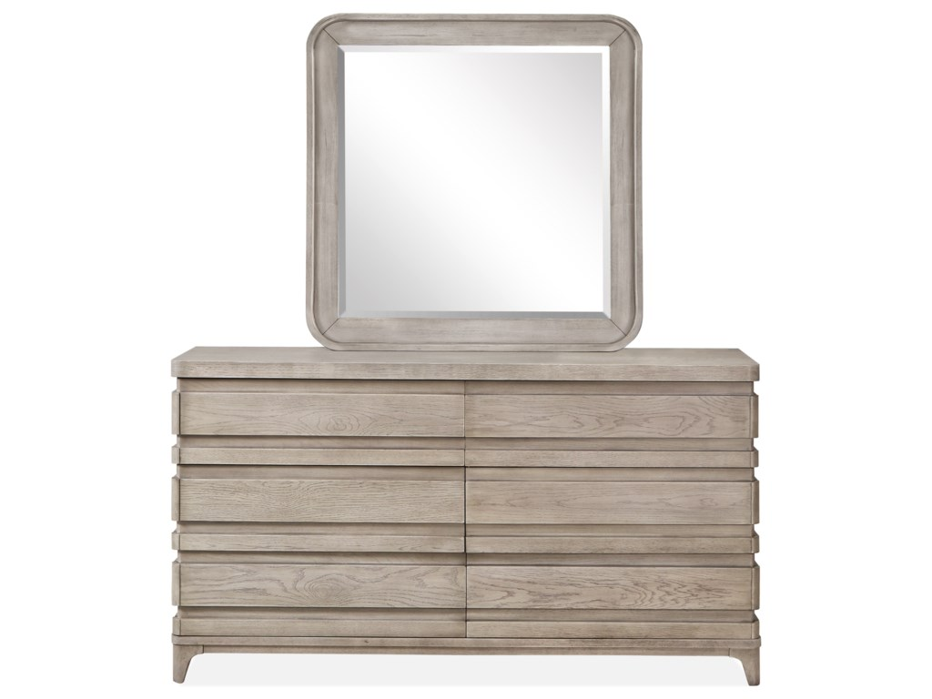 Magnussen Home PacificaDouble Drawer Dresser