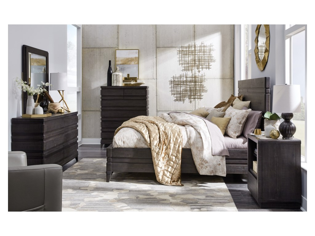 Magnussen Home Echo ParkQueen Panel Bed