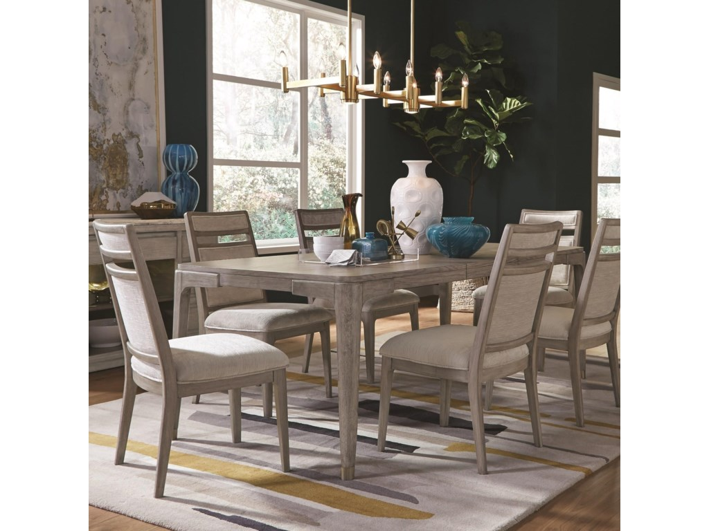 Magnussen Home PacificaTable and Chair Set for Six