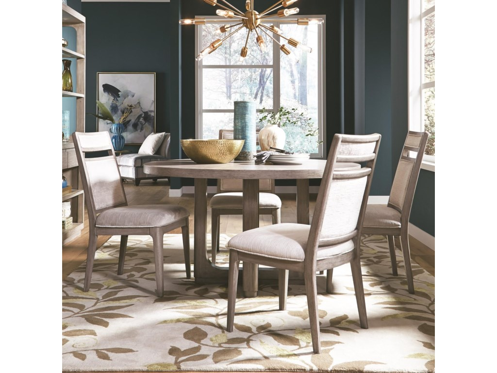 Magnussen Home PacificaTable and Chair Set for Four
