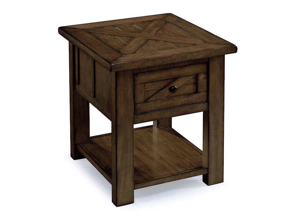 Magnussen Home FraserRectangular End Table