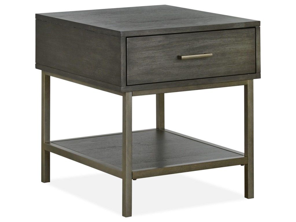 Magnussen Home Fulton MHCocktail Table and End Table