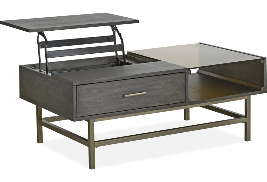 Magnussen Home Fulton Mh T4574 51 Mid Century Modern Lift Top