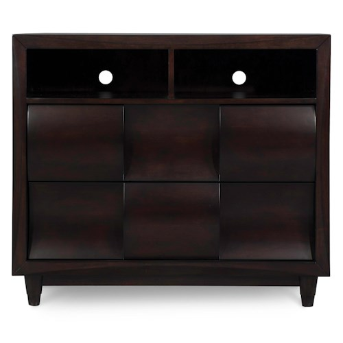 Belfort Select Cosmo Contemporary Media Chest
