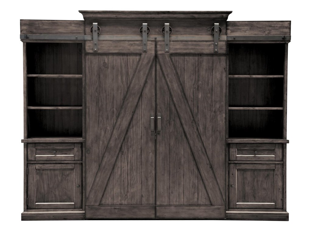 Belfort Select GarrettEntertainment Wall Unit