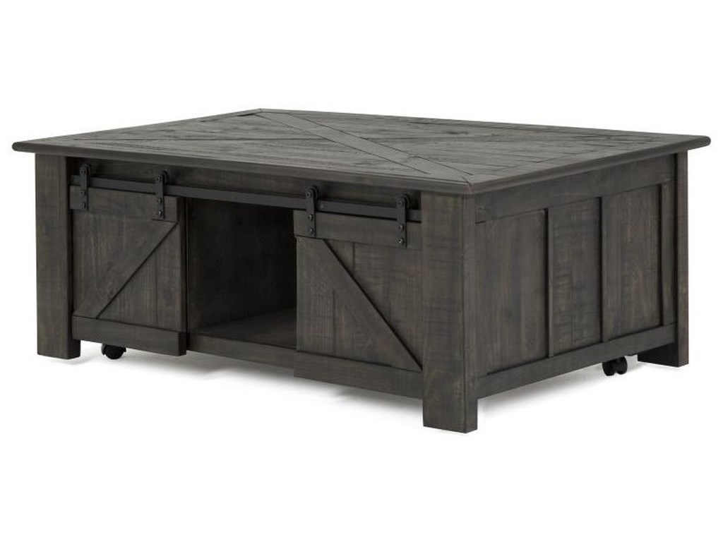 Magnussen Home Garrett 3778Rectangular Cocktail Table