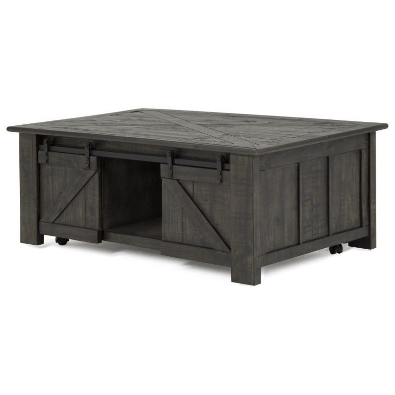 Magnussen Home Garrett 3778Rectangular Cocktail Table ...