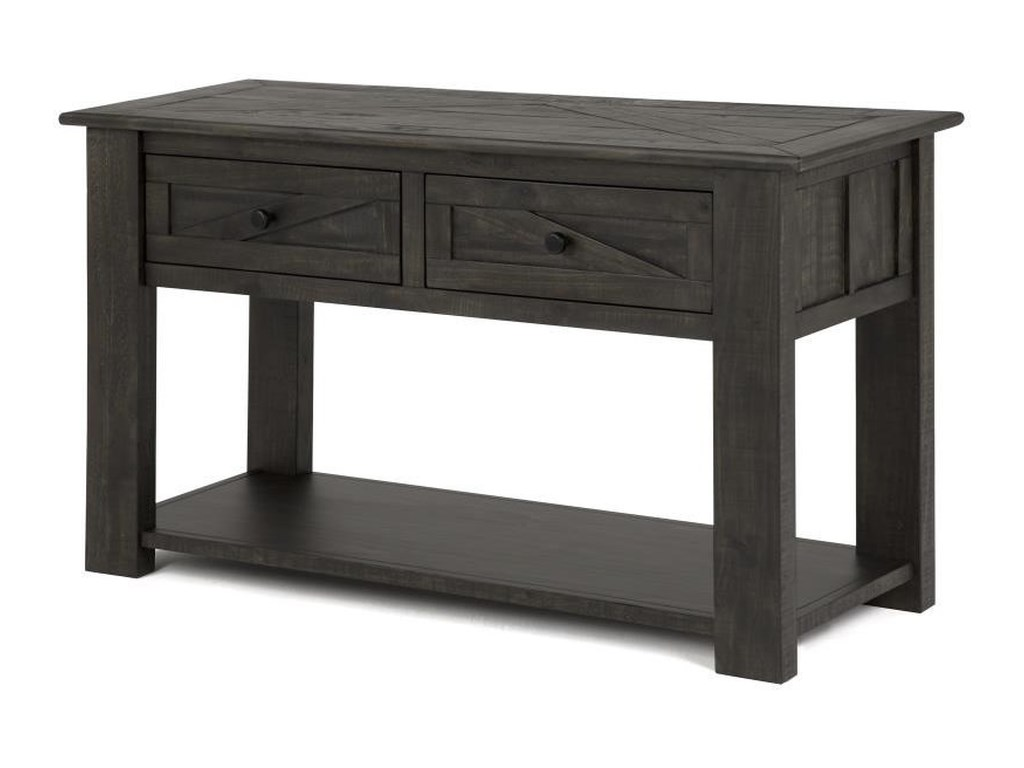 Magnussen Home Garrett 3778Rectangular Sofa Table