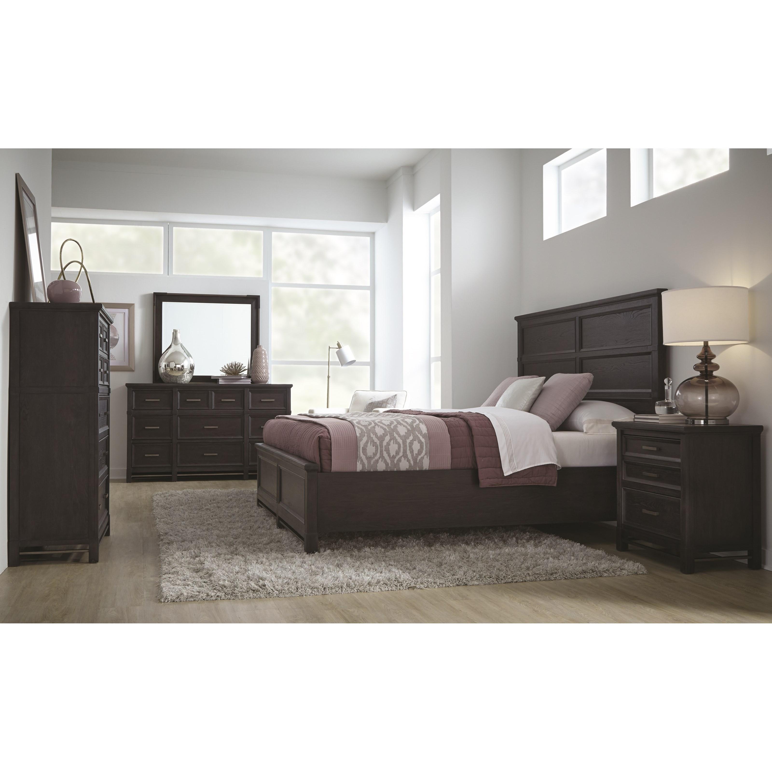 Magnussen Home Grafton AvenueQueen Bedroom Group