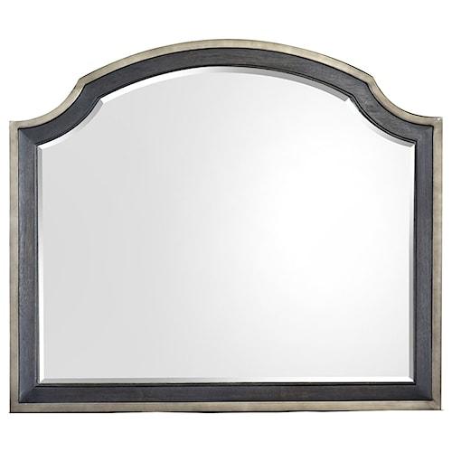 Magnussen Home Grafton Avenue Shaped Mirror