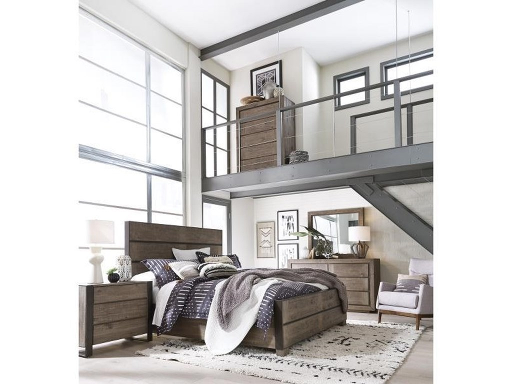 Magnussen Home Granada HillsKing Panel Bed