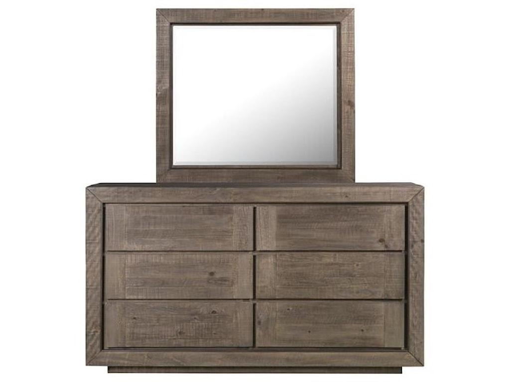 Magnussen Home Granada HillsDresser and Mirror Set