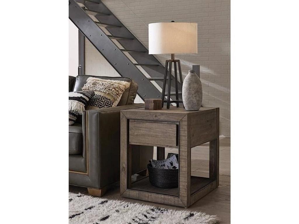 Magnussen Home Granada HillsRectangular End Table