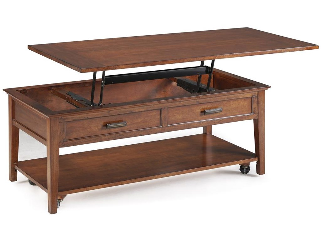 Magnussen Home Harbor BayStarter Lift Top Cocktail Table