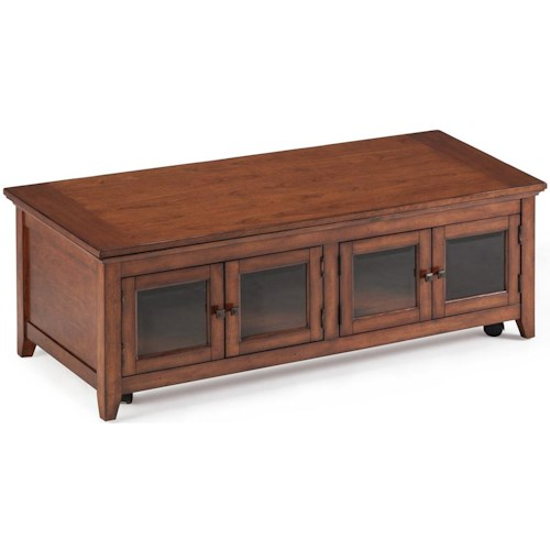 Magnussen Home Harbor Bay Lift Top Cocktail Table With 4 Doors