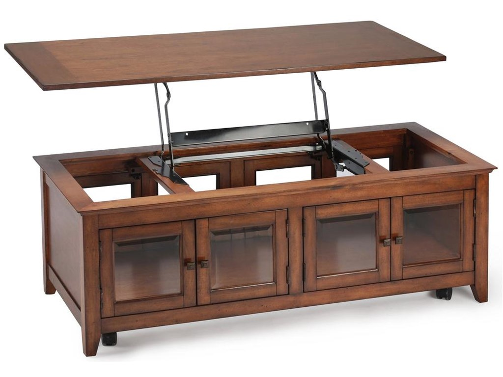 Magnussen Home Harbor BayLift Top Cocktail Table