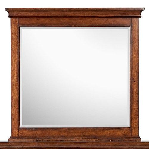 Magnussen Home Harrison Beveled Landscape Mirror