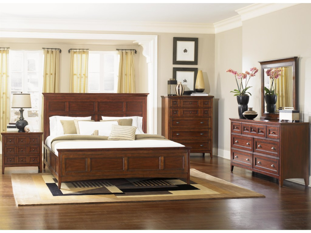 Magnussen Home HarrisonQueen Panel Bed