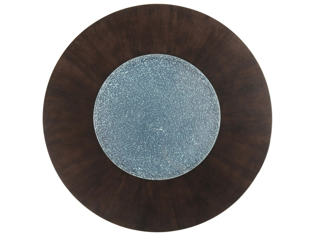 Round Top with Glass Inset
