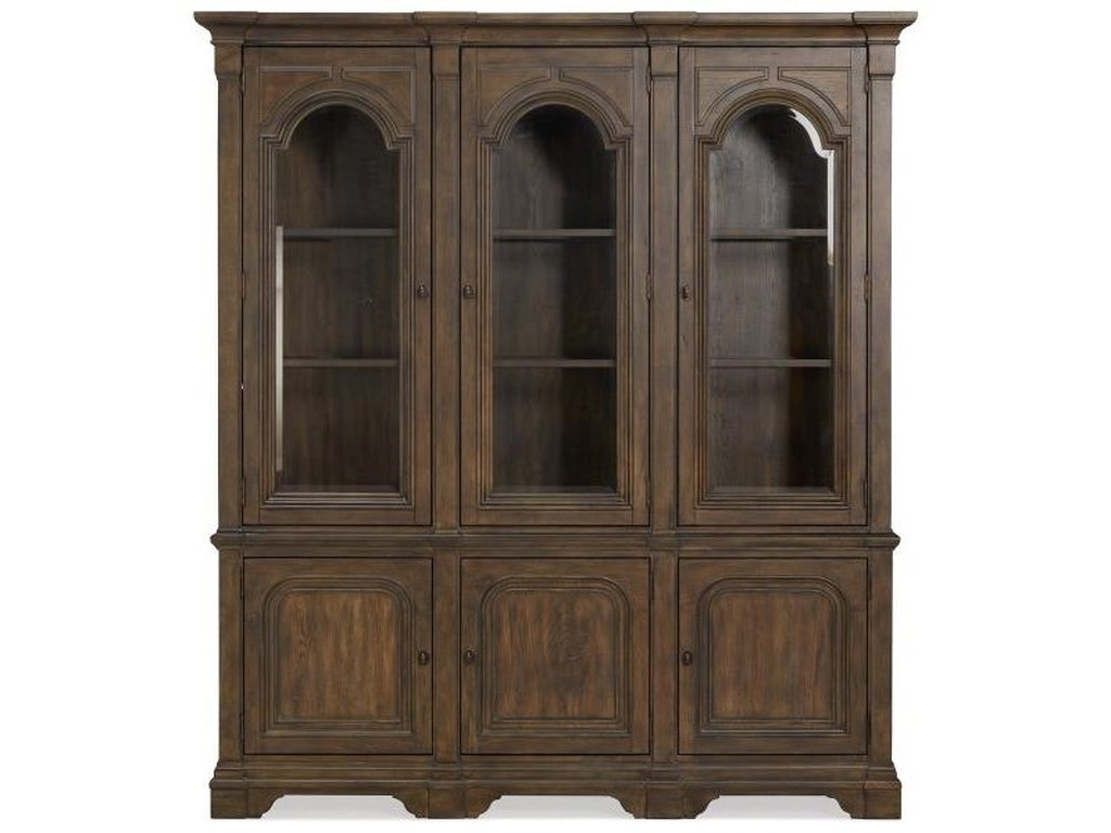 Jefferson Market Traditional China Cabinet With Built In Lights By Magnussen Home
