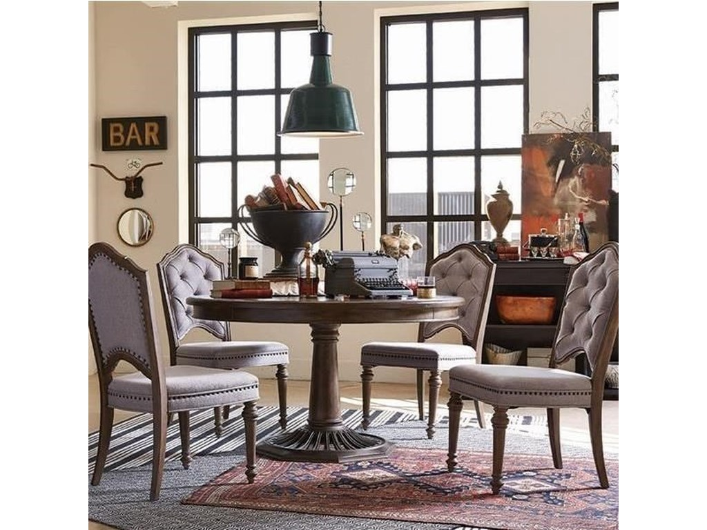 Magnussen Home Table and Chair Set