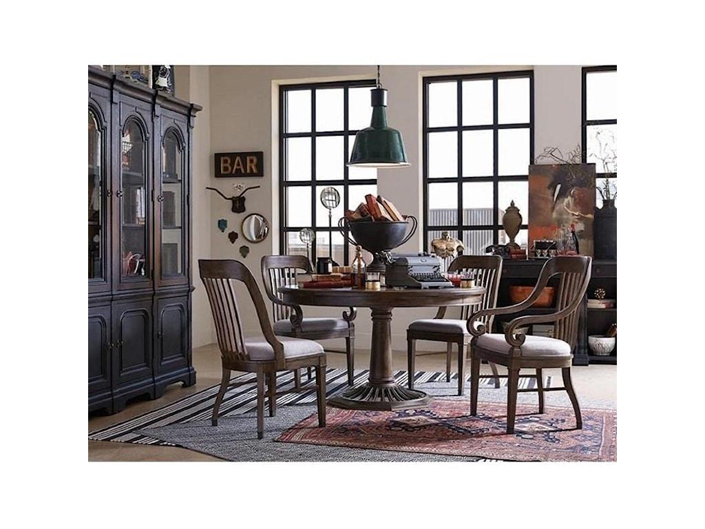 Magnussen Home Jefferson MarketRound Dining Table