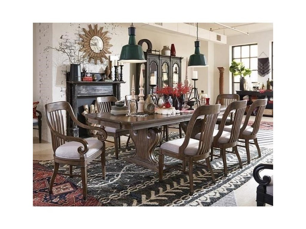 Magnussen Home Jefferson MarketTraditional Dining Set