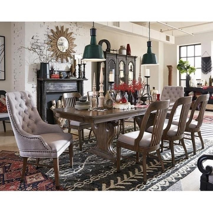 Magnussen Home Jefferson MarketTraditional Dining Set