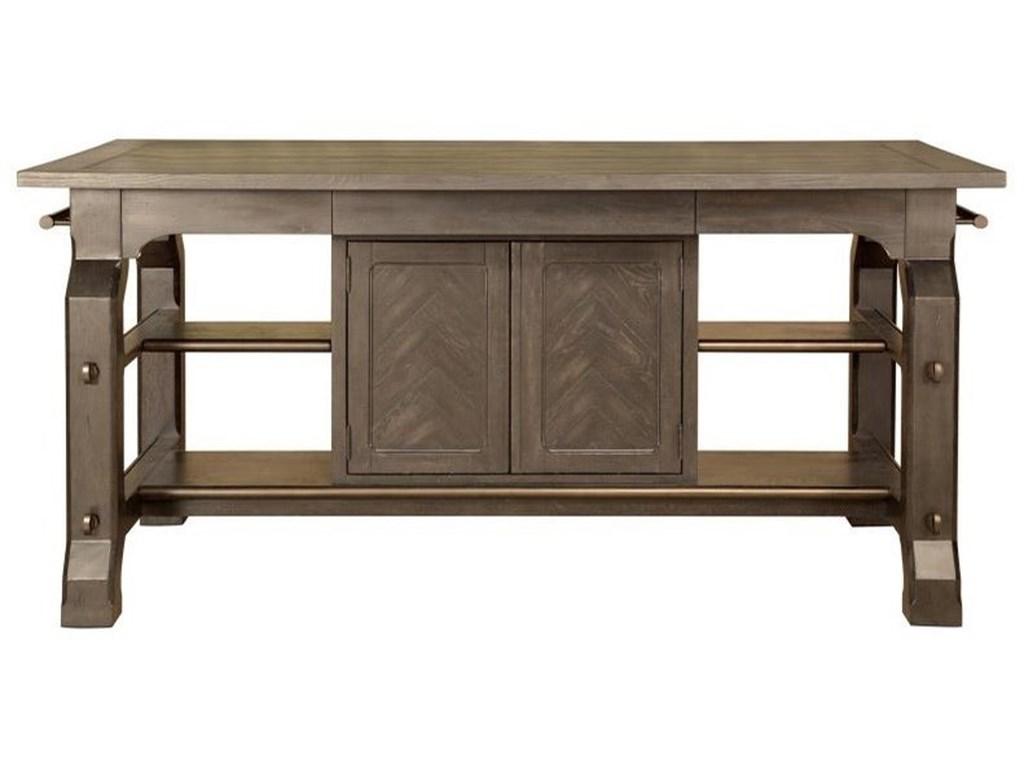 Magnussen Home Jefferson MarketRectangular Counter Table