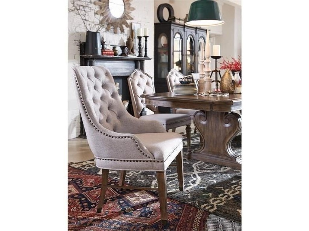 Magnussen Home Jefferson MarketUpholsteredArm Chair