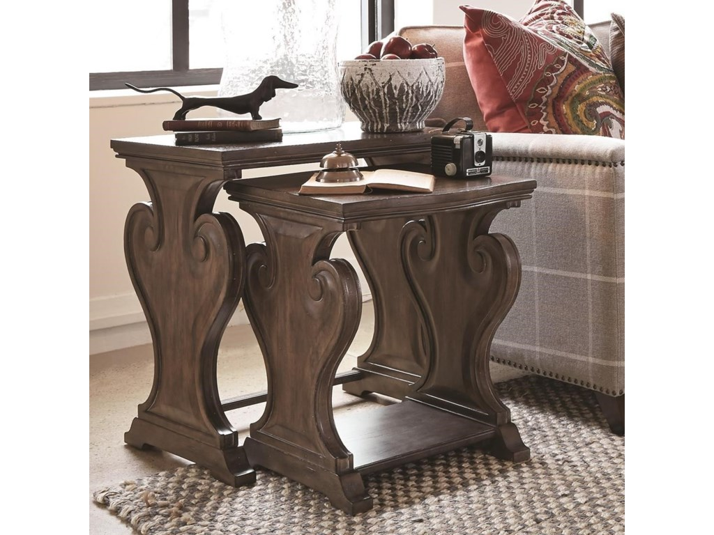 Magnussen Home Jefferson MarketNesting End Table