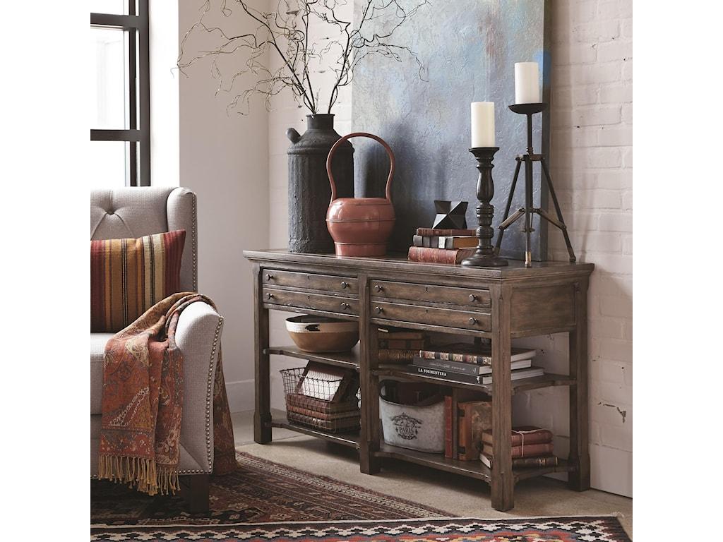 Magnussen Home Jefferson MarketRectangular Sofa Table