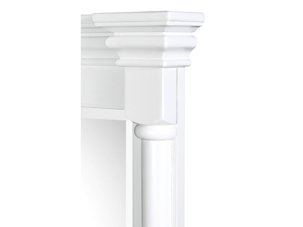 Bar Columns & Crown Moulding