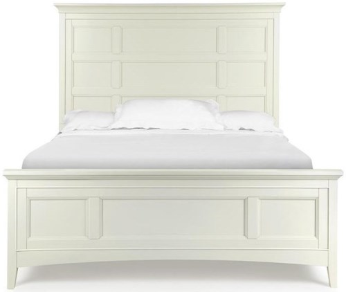 Magnussen Home Kentwood Queen Panel Bed With Storage Rails