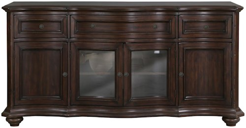 Magnussen Home Kessington Traditional Media Console with Wire Management
