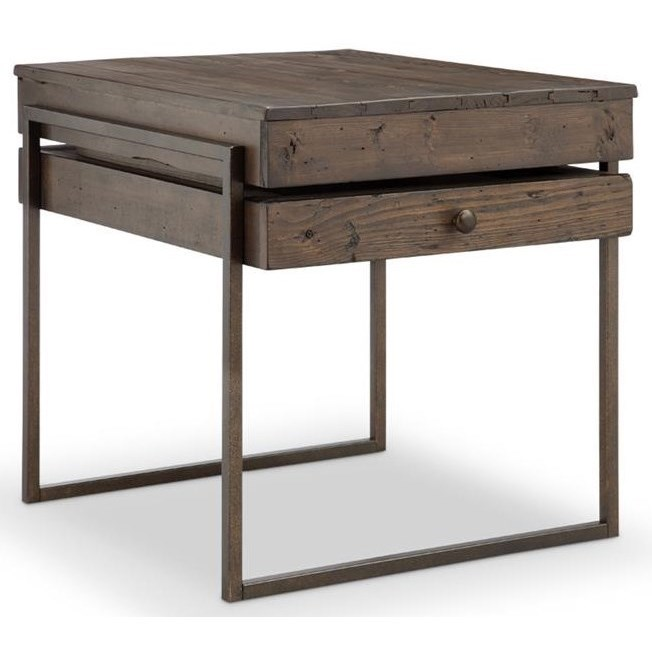 Magnussen Home Kirkwood T4291Rectangular End Table ...