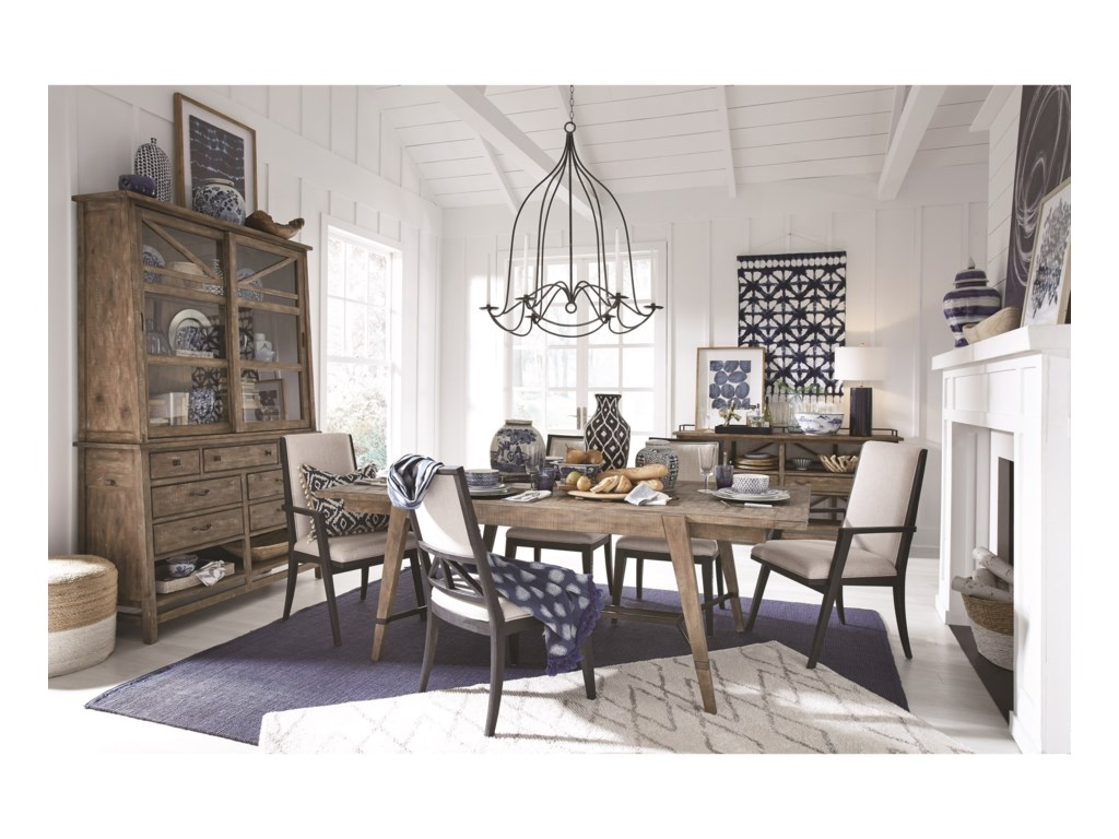 Magnussen Home Bluff HeightsFormal Dining Room Group