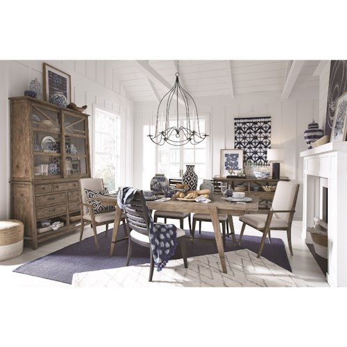Magnussen Home Bluff Heights Formal Dining Room Group
