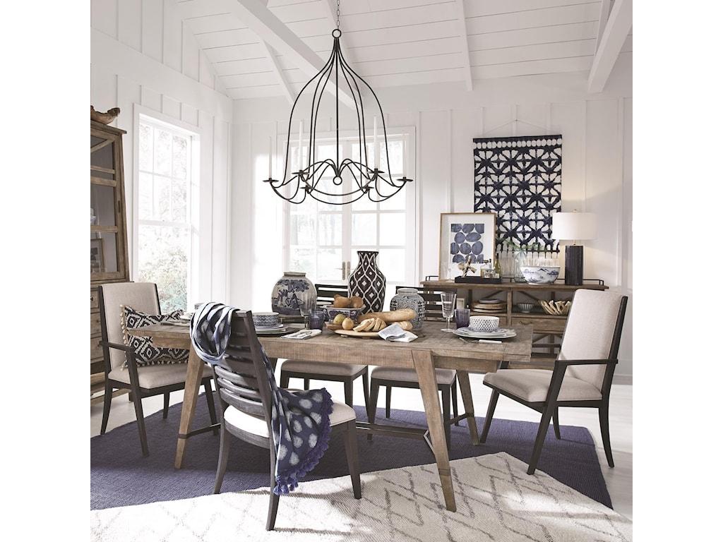 Magnussen Home Bluff Heights7 Piece Dining Set