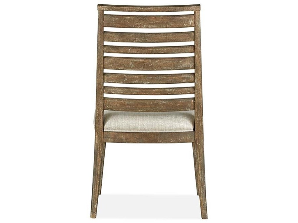 Magnussen Home Dining Side Chair with Upholstered Seat