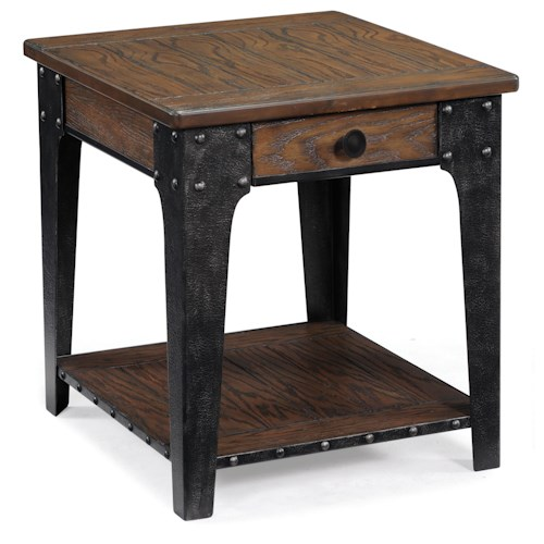 Magnussen Home Lakehurst Rectangular End Table