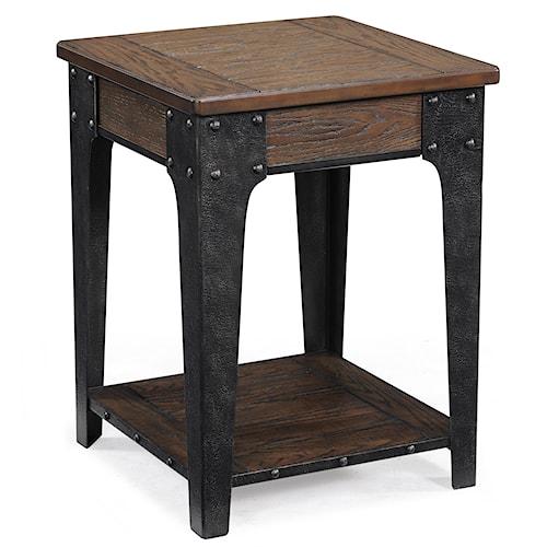 Magnussen Home Lakehurst Square Accent Table
