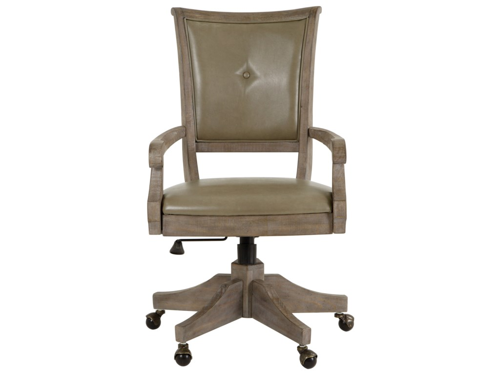 Magnussen Home LancasterUpholstered Swivel Chair