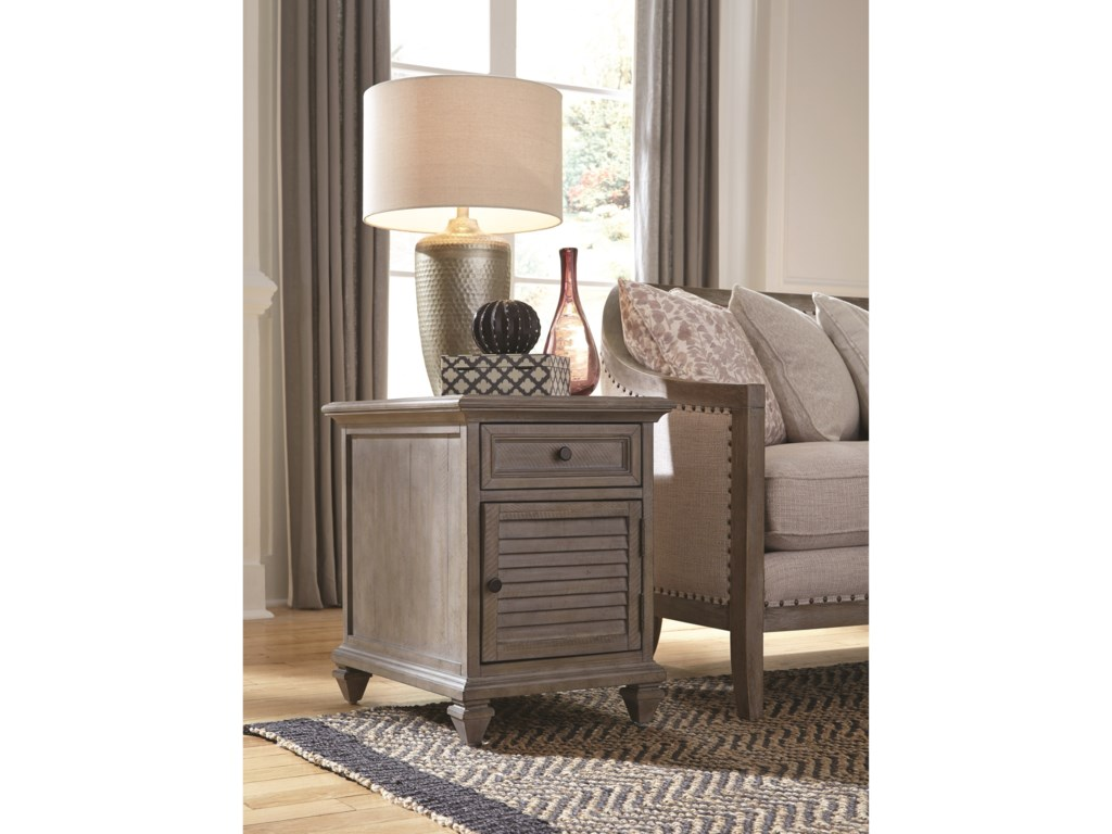 Magnussen Home LancasterChairside End Table