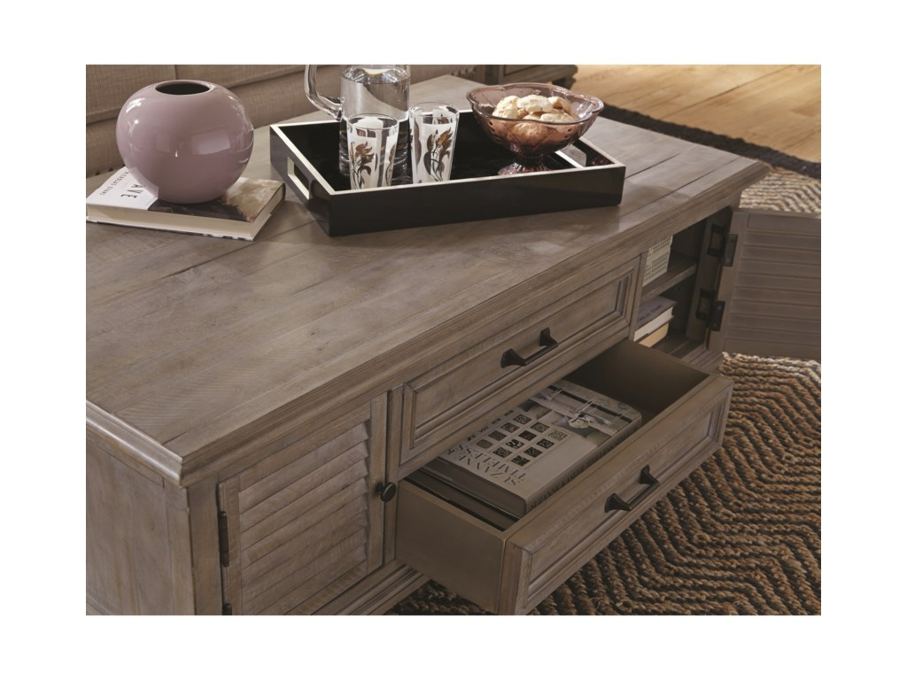 Magnussen Home LancasterCocktail Table
