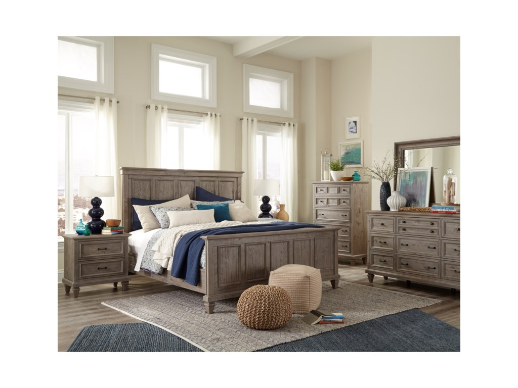 Magnussen Home LancasterKing Bedroom Group